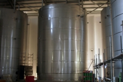 Insulate stsainless steel tank 450 m3 (Scotland)