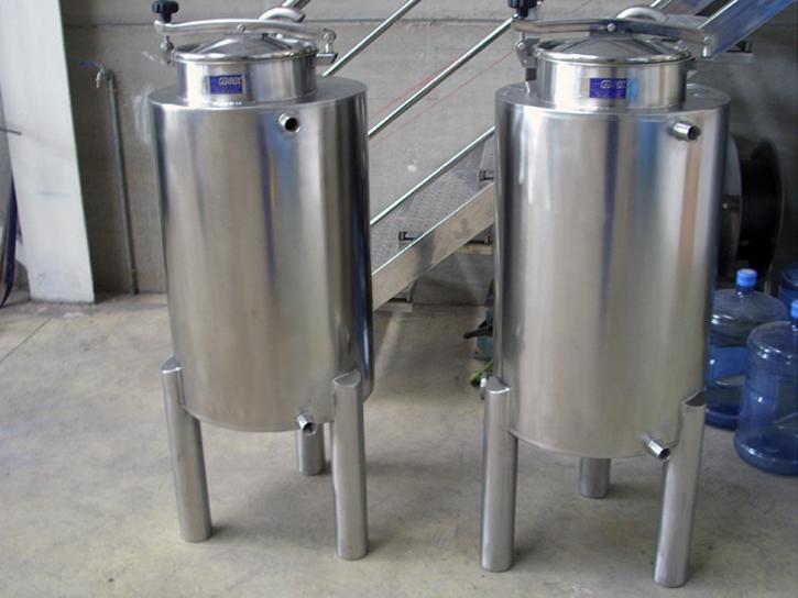 Mineral tanks