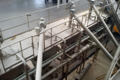Installation tuyauterie dans exploitation salines