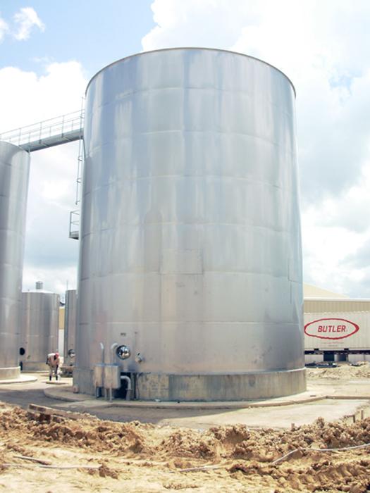 Depósito 450 m3 in situ en República Dominicana
