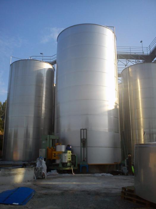 Depósito in situ en fase de fabricación