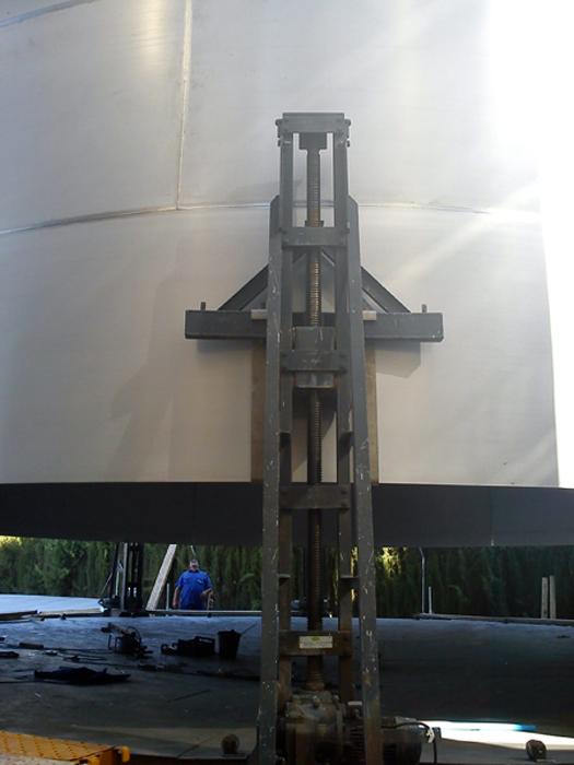Detalle fabricación in situ