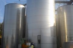 In-situ tank in process of manufacture