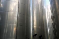Stainless steel tanks 250 cubic metres