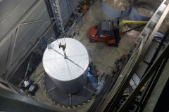 Depósito en taller en fase de fabricación