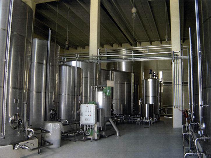 Piperworks installation for distillery rum